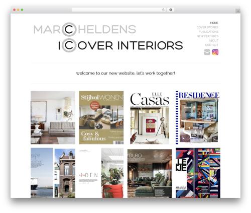 Theme WordPress Marc Heldens - marcheldens.com