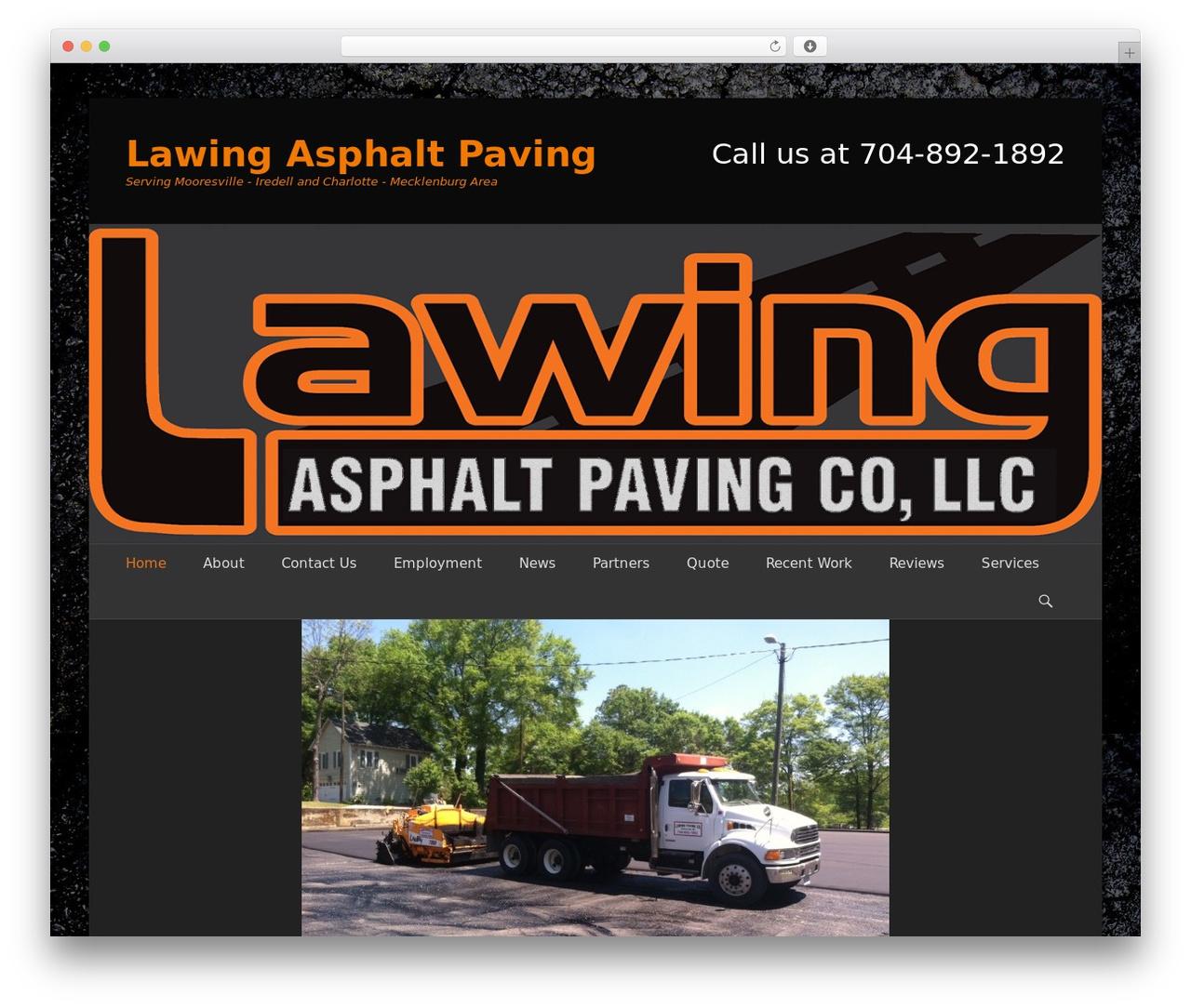 WordPress template Catch Base Pro - lawingasphaltpaving.com