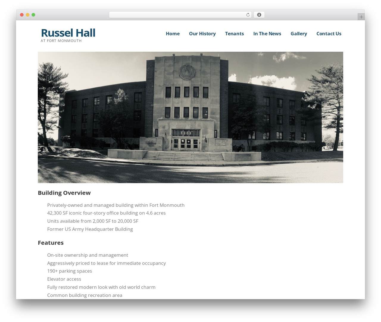 Ascension WordPress template - russelhall.com
