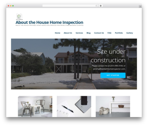 Best WordPress theme Ascension - baldwinhomeinspector.com