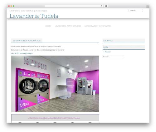 Best WordPress theme White - lavanderiatudela.com