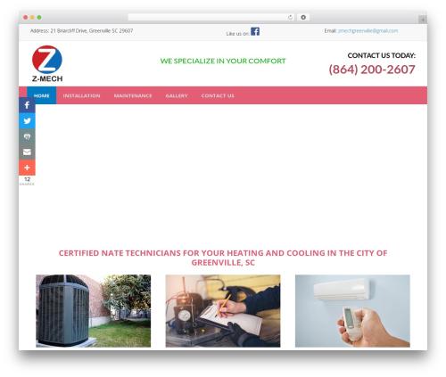 BsnTech Networks WordPress page template - z-mech.com