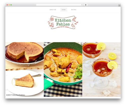 Cookd Pro Theme WP theme - kitchenfables.com