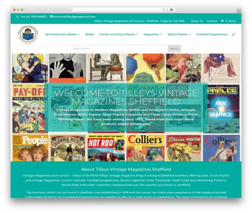 Divi WordPress news theme - tilleysvintagemagazinessheffield.com