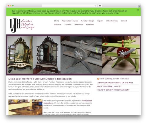 Encounters premium WordPress theme - littlejackhorners.com