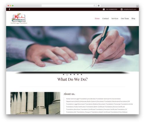 LawyeriaX Lite WordPress website template - kohatclt.com