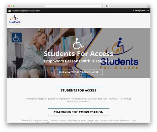 Legal template WordPress - studentsforaccess.com