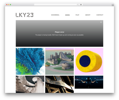 Matrix free WP theme - lucky23.com