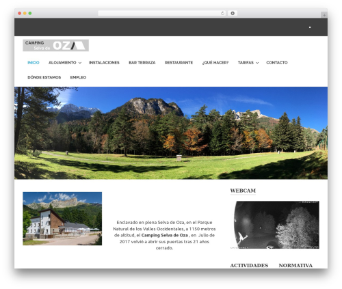 Poseidon WordPress theme free download - camping-selvadeoza.com