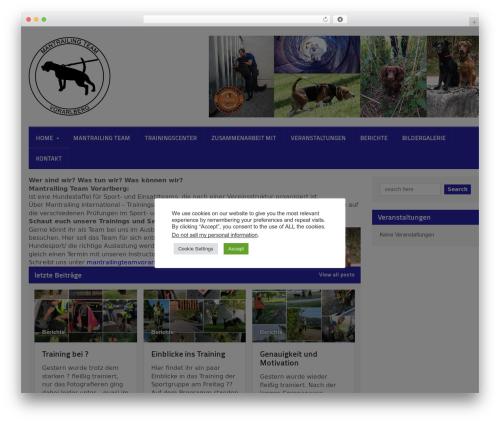 Quadrum Theme WP theme - mantrailing-vlbg.com