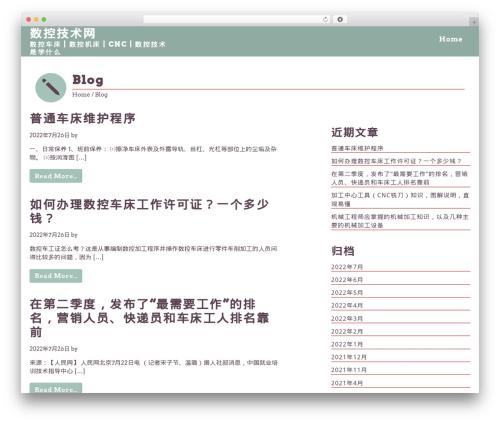 School free website theme - cncgz.com