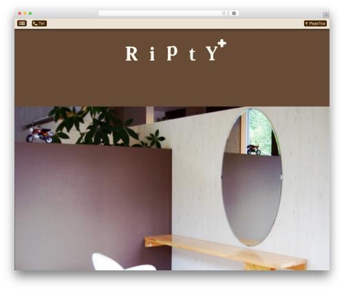 Smartpress free WP theme - ripty-plus.com