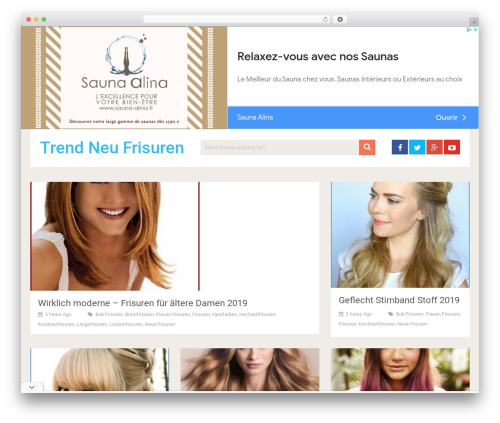 SociallyViral by MyThemeShop WordPress shopping theme - trendneufrisuren.com