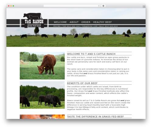 The HTML5 Reset Theme WordPress theme - tandsranch.com