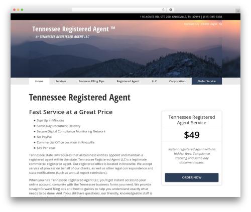 The Theme theme WordPress - tennesseeregisteredagent.com