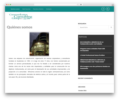 Wiles WP template - commconsultinggroup.com