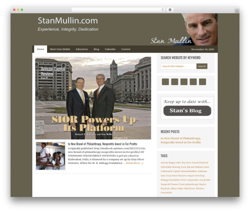 WordPress template AgentPress Two - orangecountyindustrial.com