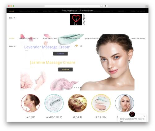 WordPress template Kendall - jandiworld.com