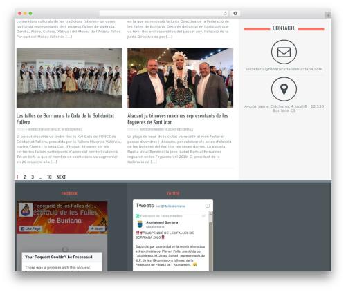 WordPress theme Resolution - federaciofallesburriana.com