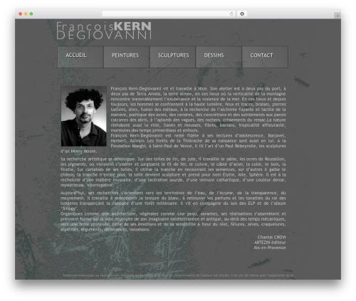 WP theme The Theme - francois-kern.com