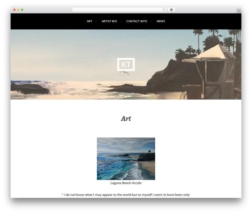 Argent theme WordPress free - ktseacoasts.com