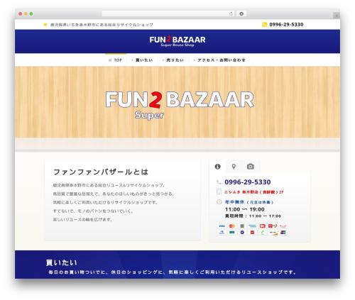 Flawless best WordPress template - fun2bazaar.com