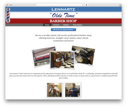 GeneratePress theme WordPress - lennartzoldetimebarbershop.com