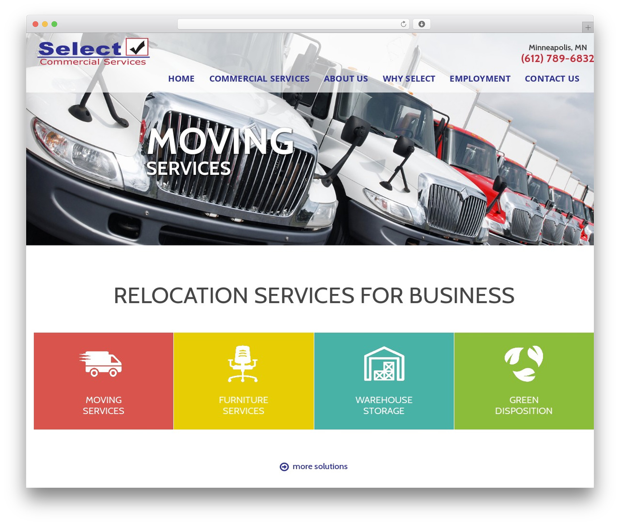 Selects Theme business WordPress theme - selectcs.com