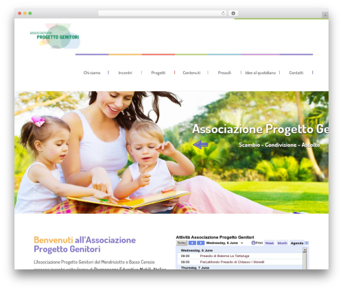 WordPress template Kids World - associazioneprogettogenitori.com