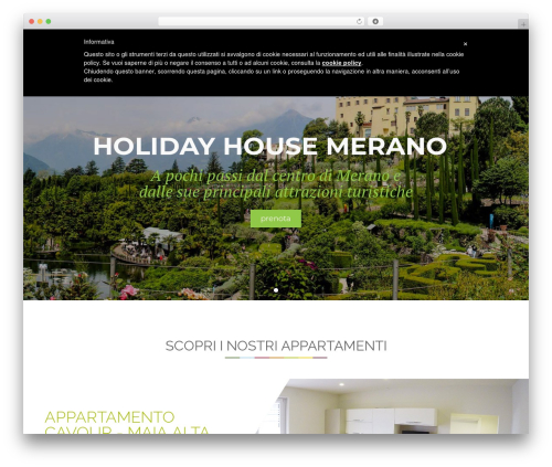 WordPress theme Focuson - holidayhousemerano.com