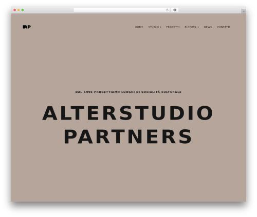 WordPress theme Mies - alterstudiopartners.com