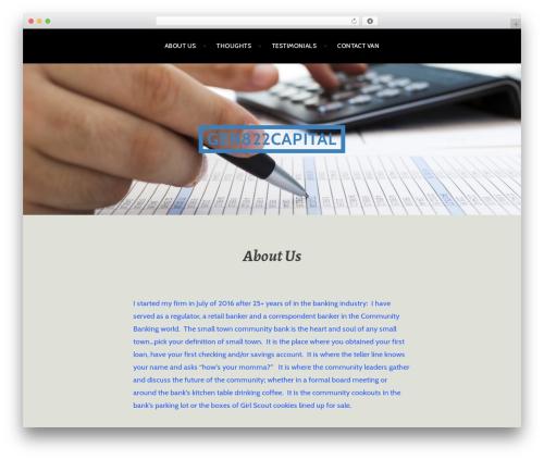 Argent WordPress free download - gen822capital.com