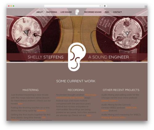 Best WordPress theme Pinnacle - shellysteffens.com