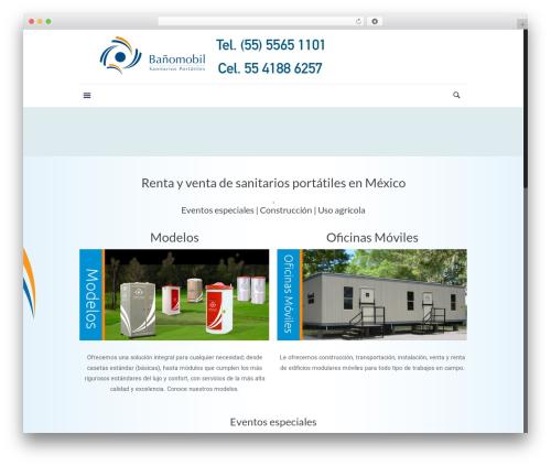 Betheme WordPress page template - sanitariosportatiles.com