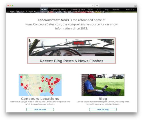 WordPress megamenu-pro plugin - concours.news