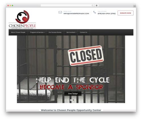 HelpingHands WordPress template - chosenpeopleoc.com