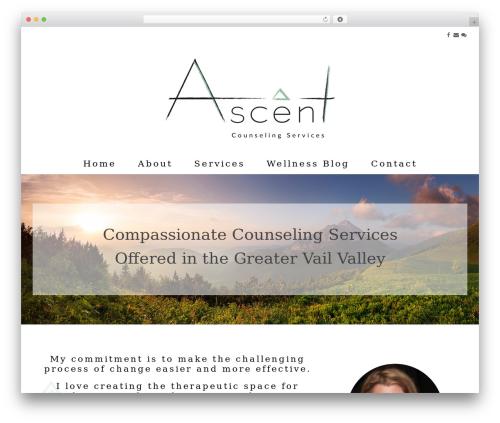 Jump Start theme WordPress - ascentcounselingservice.com