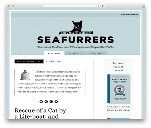 Madison WP template - seafurrers.com