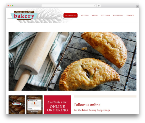 Matty best WordPress template - columbiacitybakery.com
