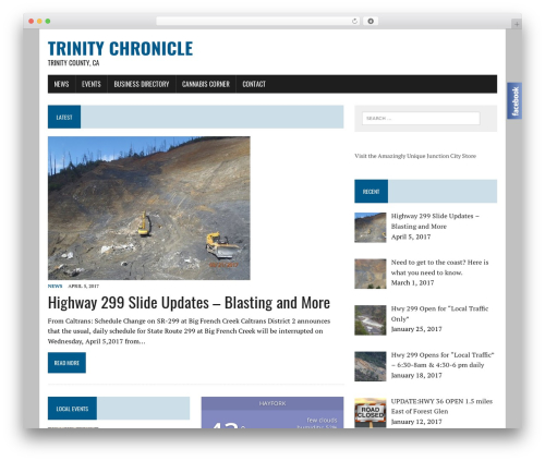 MH Newsdesk lite free WordPress theme - trinitychronicle.com