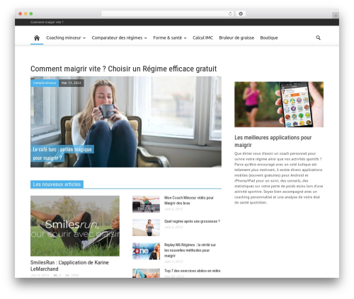 Newspaper newspaper WordPress theme - vite-comment-maigrir.fr