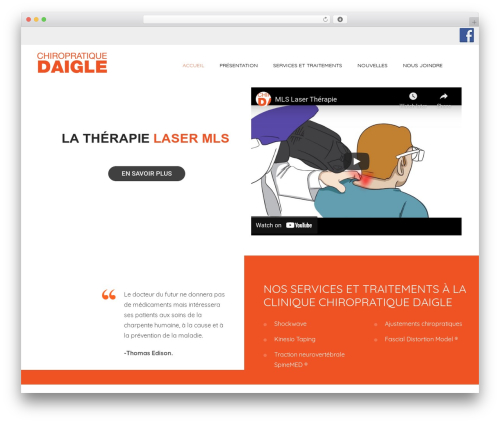 WordPress designthemes-doctor-addon plugin - chiropratiquedaigle.com