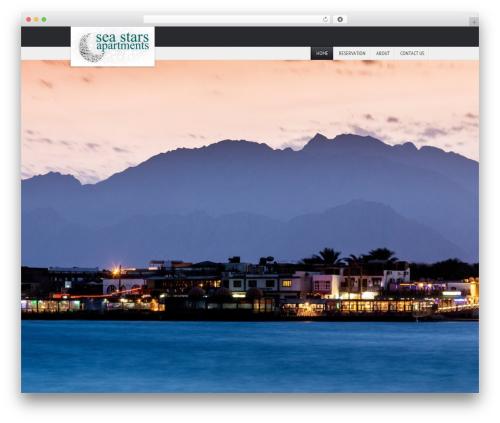 ParadiseHotel WordPress hotel theme - seastarsdahab.com