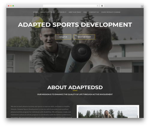 ResponsiveBoat best free WordPress theme - adaptedsd.com