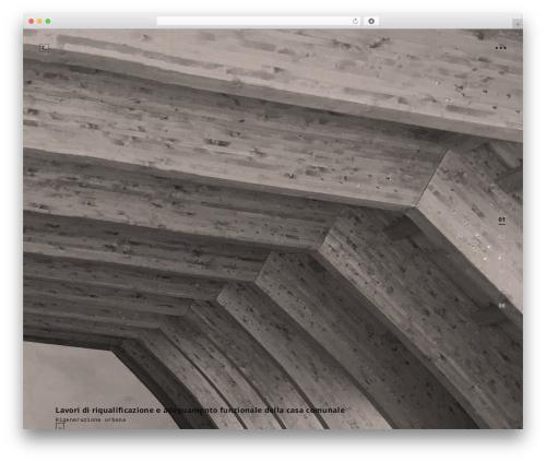 tamashi WordPress theme - architecturezoo.com