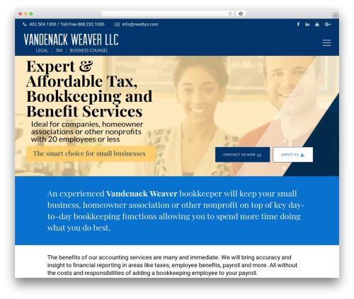 Wizelaw WordPress theme - vwtaxes.com