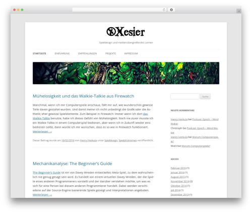 Free WordPress Shortcode Table of Contents plugin - xesier.de
