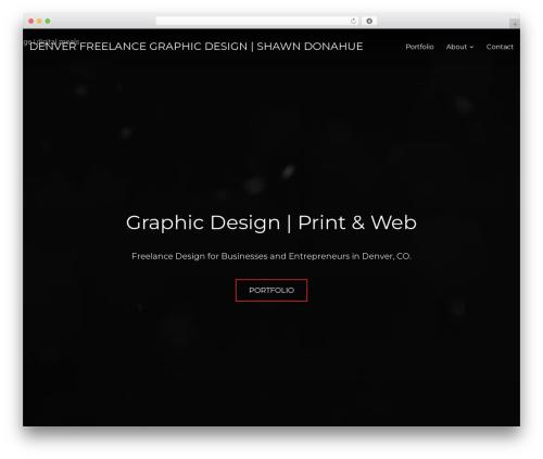 WP theme Inspiro - shawndondesign.com