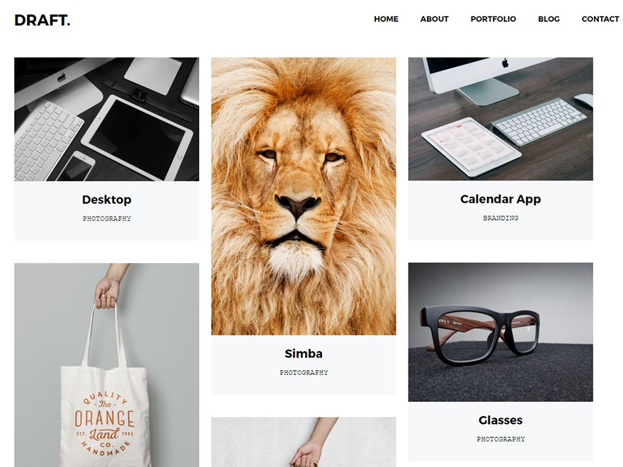 67 Studios WordPress template for photographers