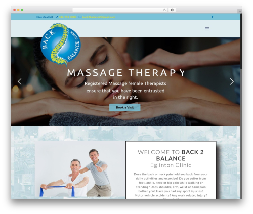 Betheme template WordPress - visitb2b.com